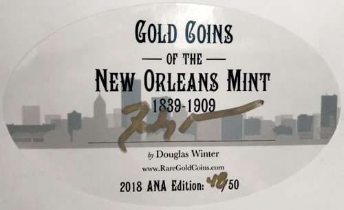 Only 50 of these labels exist, each is hand numbered and signed by Doug Winter in gold.