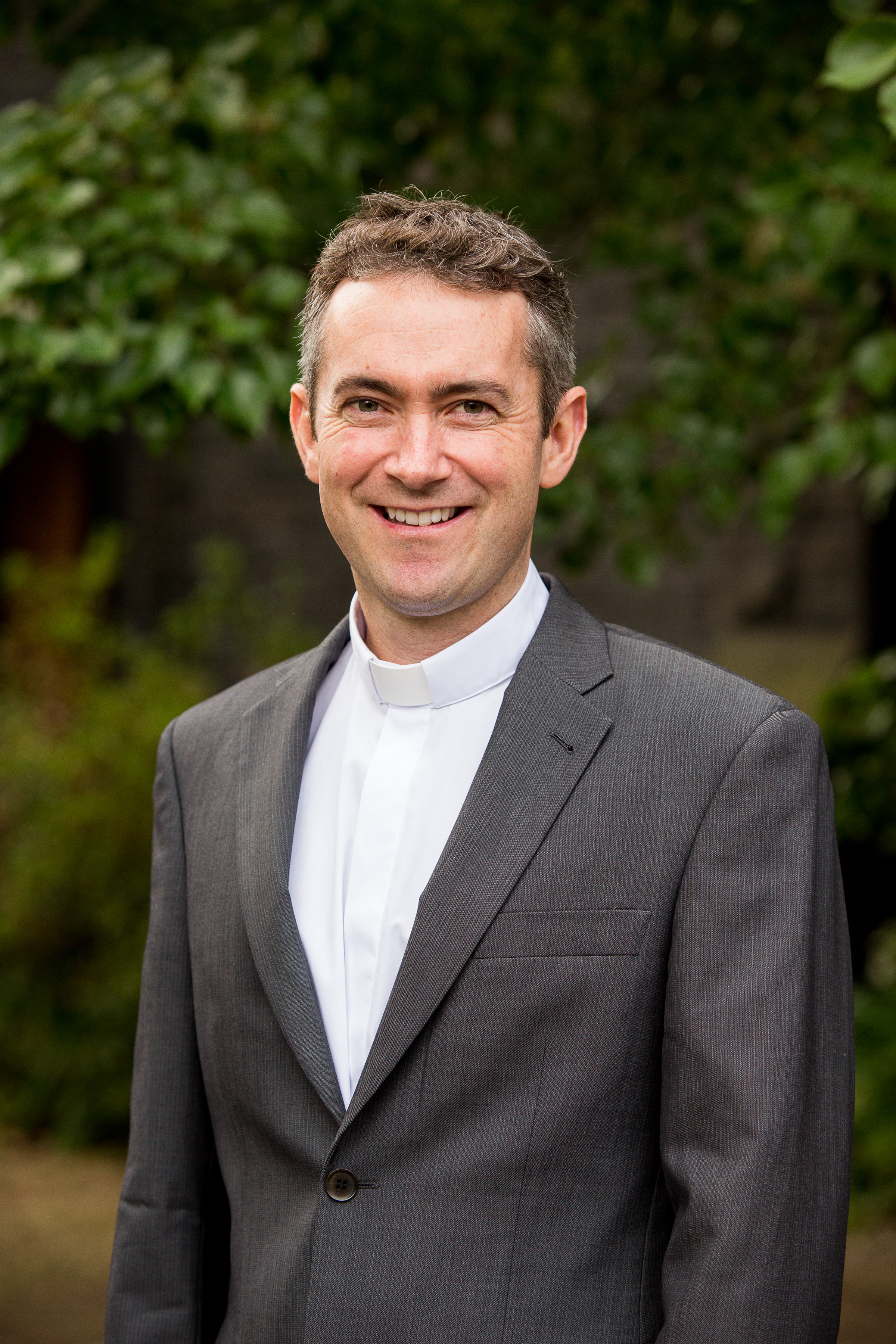 The seminary's new Director of Pastoral Work, Fr Jake Mudge.