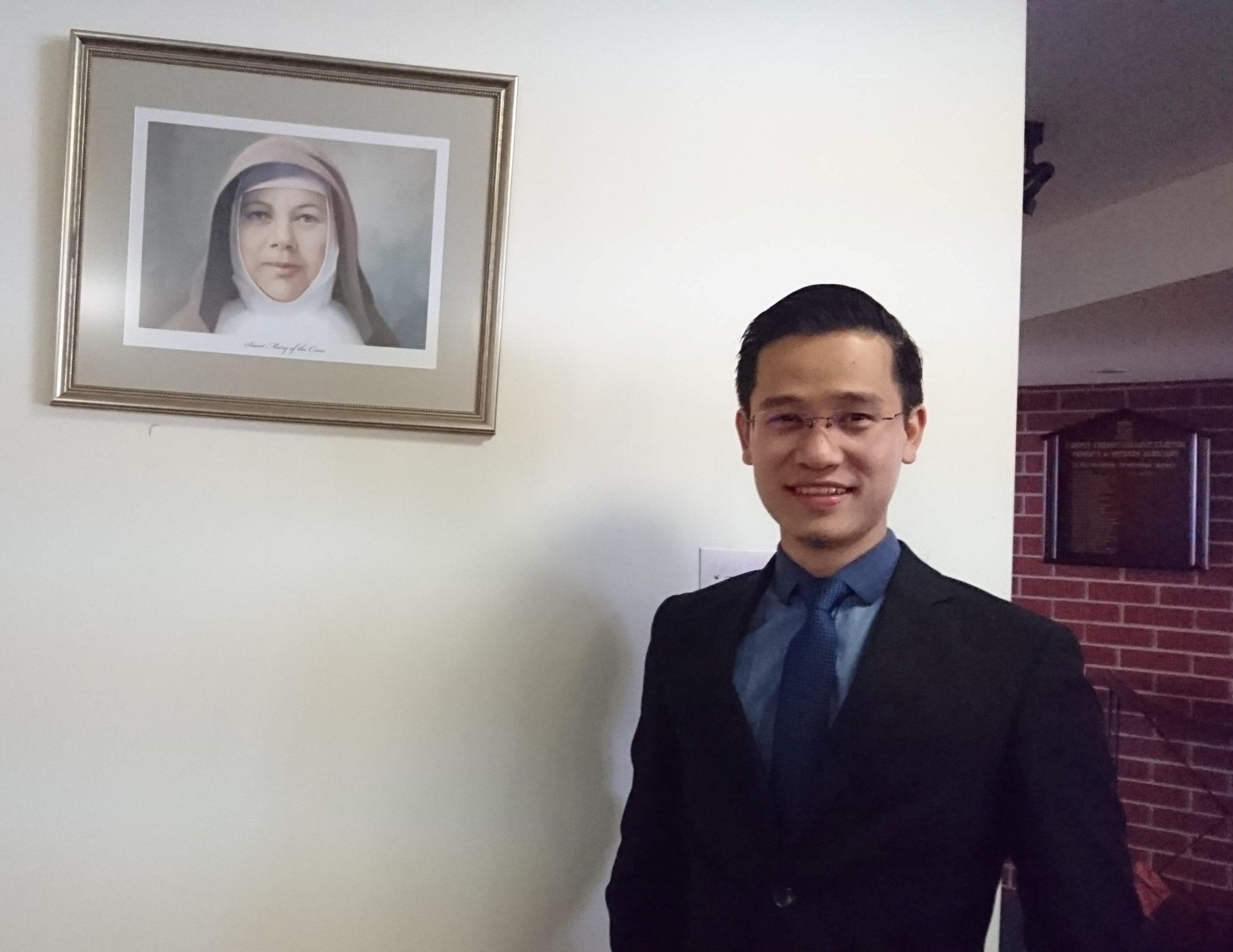 Melbourne seminarian, Trac Nguyen, 28, who is originally from Vietnam. Picture: Jude Ezeme