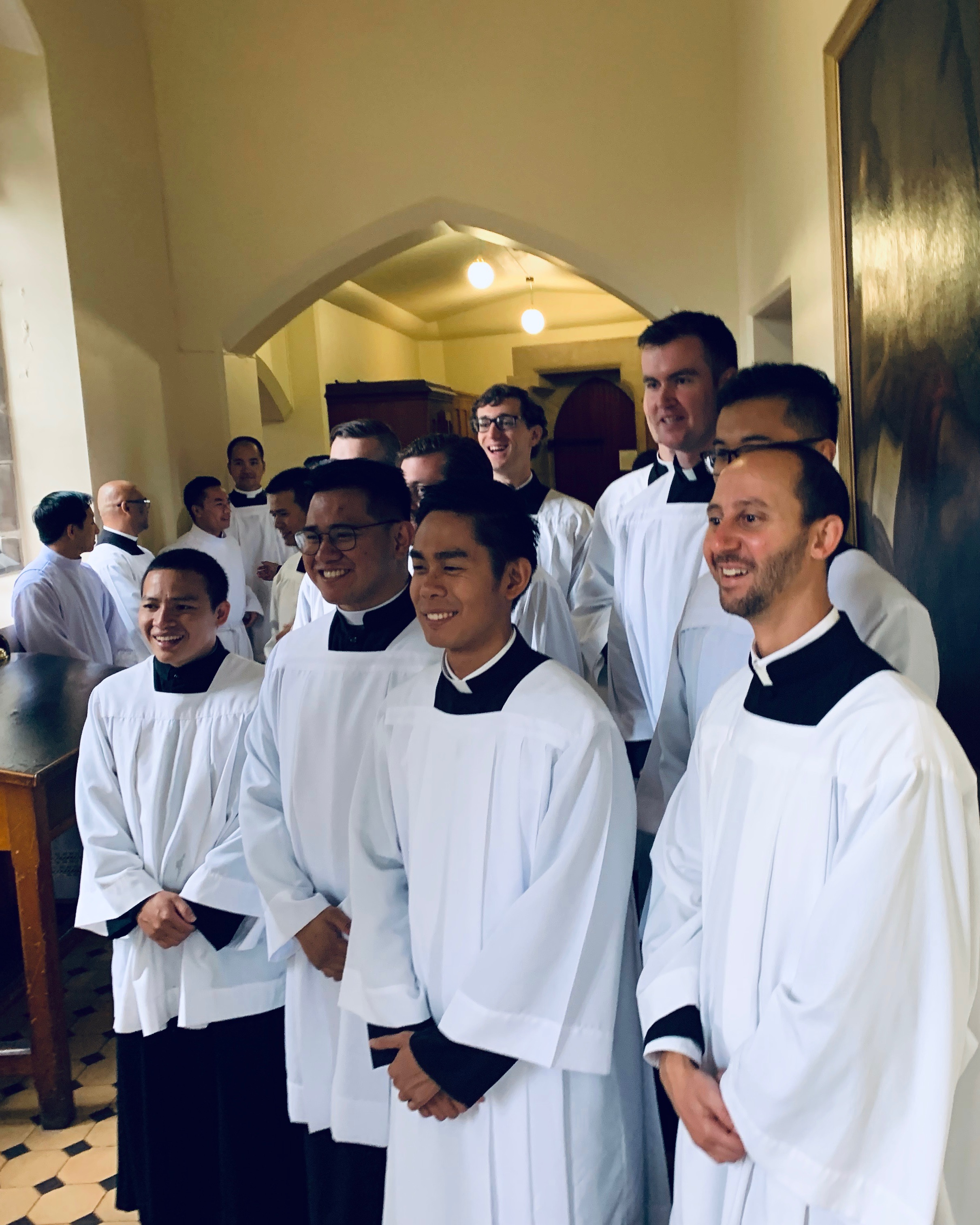 The First-years at St Patrick's Cathedral