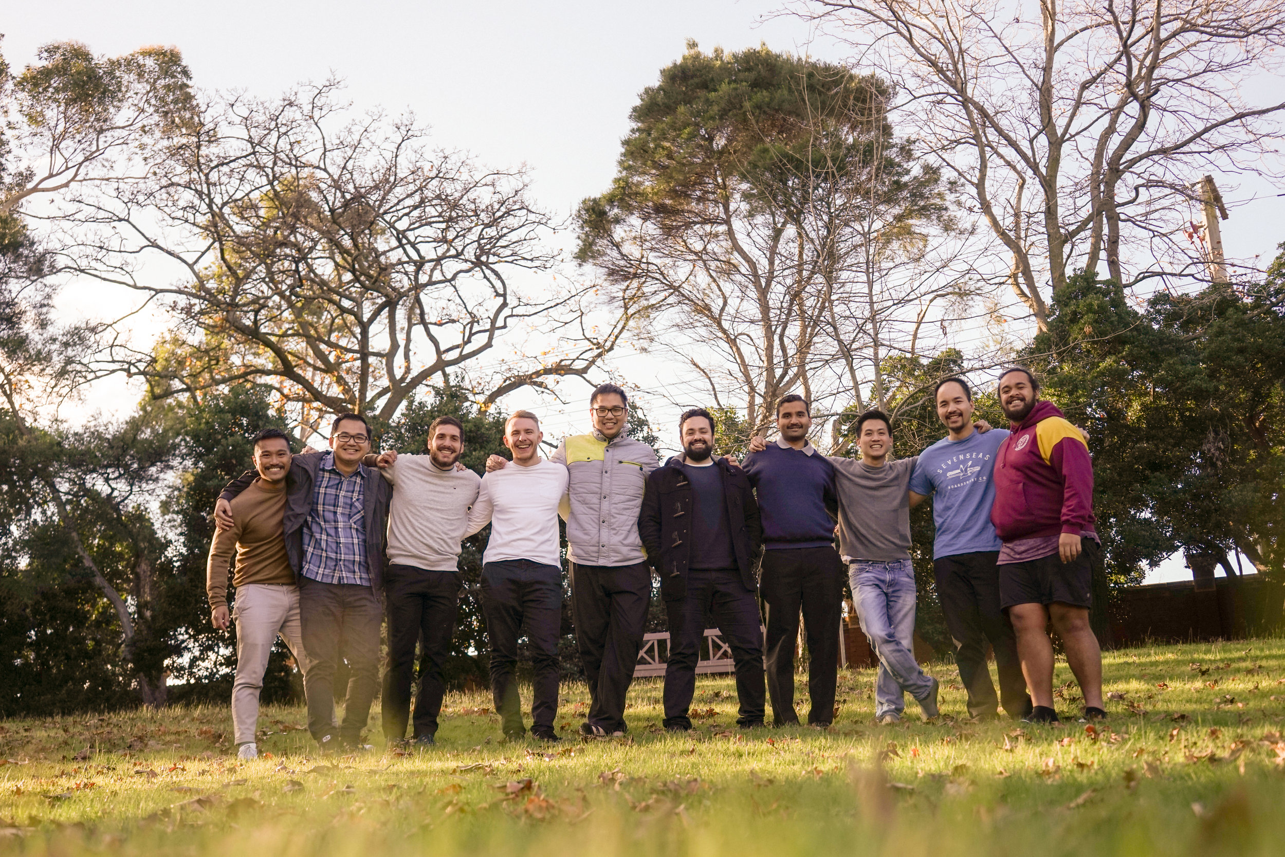 5th Year Seminarians after finishing the 30 day Ignatian Spiritual Exercises in Kew, Melbourne.