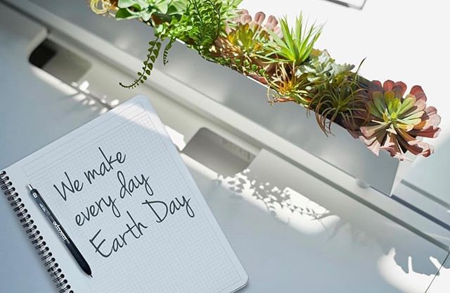 "Happy Earth Day! At Peabody Office we represent and value manufacturer partners with the same philosophy on sustainability and propose workspace solutions that are as ""futureproof"" as possible. For example – check out Inscape's RockIt Bench: up to 85% of the system content can be recycled. #PeabodyPicks #EarthDay #Futureproofing"