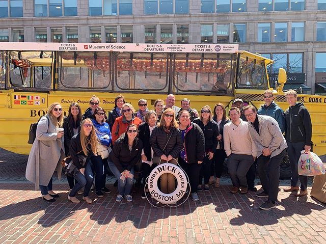 The famous Boston Duck Boat Tour for Staff Appreciation Day this year - at Peabody hard work and dedication never goes unnoticed! 🍻🥂#PeabodyPeople #DuckBoat #StaffAppreciationDay