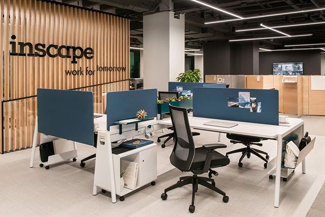 First day at NeoCon 2019! Swing by Suite 1095 to check out Inscape's array of products and applications in benching, storage, seating and more! @neocon_shows @my_inscape #NeoCon2019 #RockItBench #myinscape #PeabodyPicks