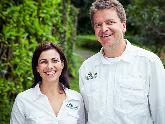 Andrea and Hans - Founders of the Cayuga Collection