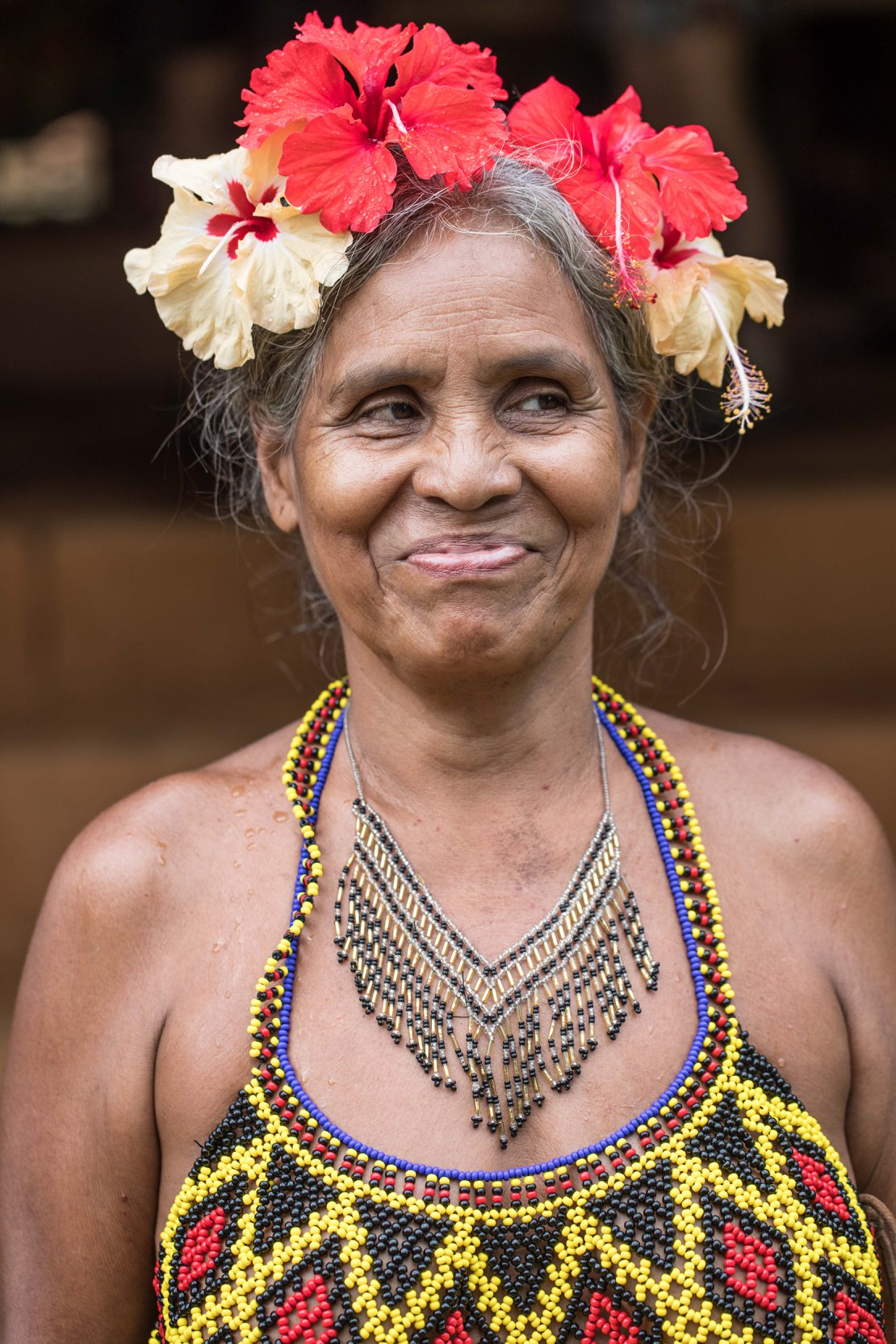 A member of the Embera Community. Photo credit to the ATTA Adventure Week.