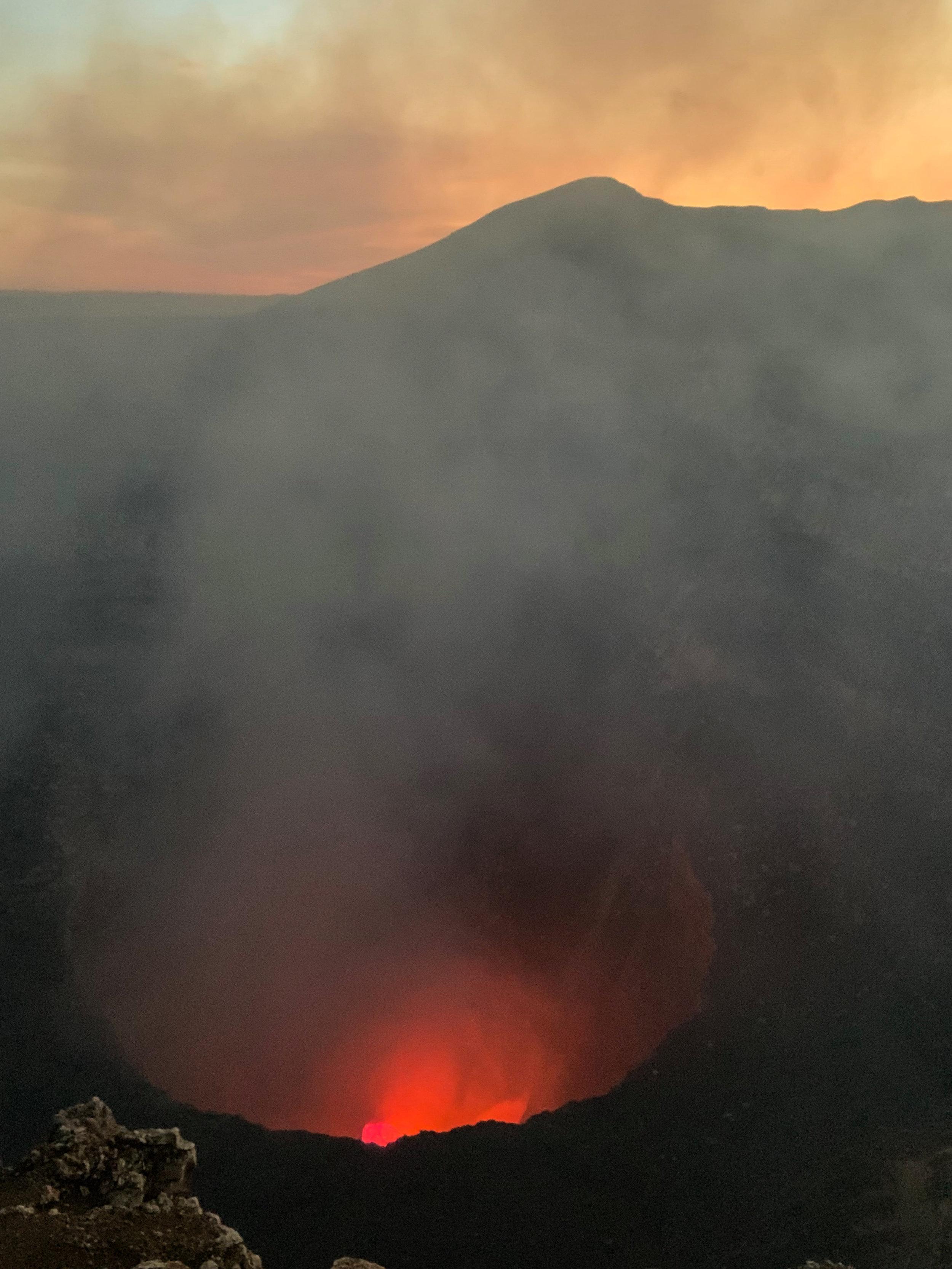 Masaya's Lava Lake