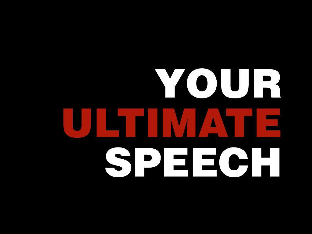 your-ultimate-speech-logo