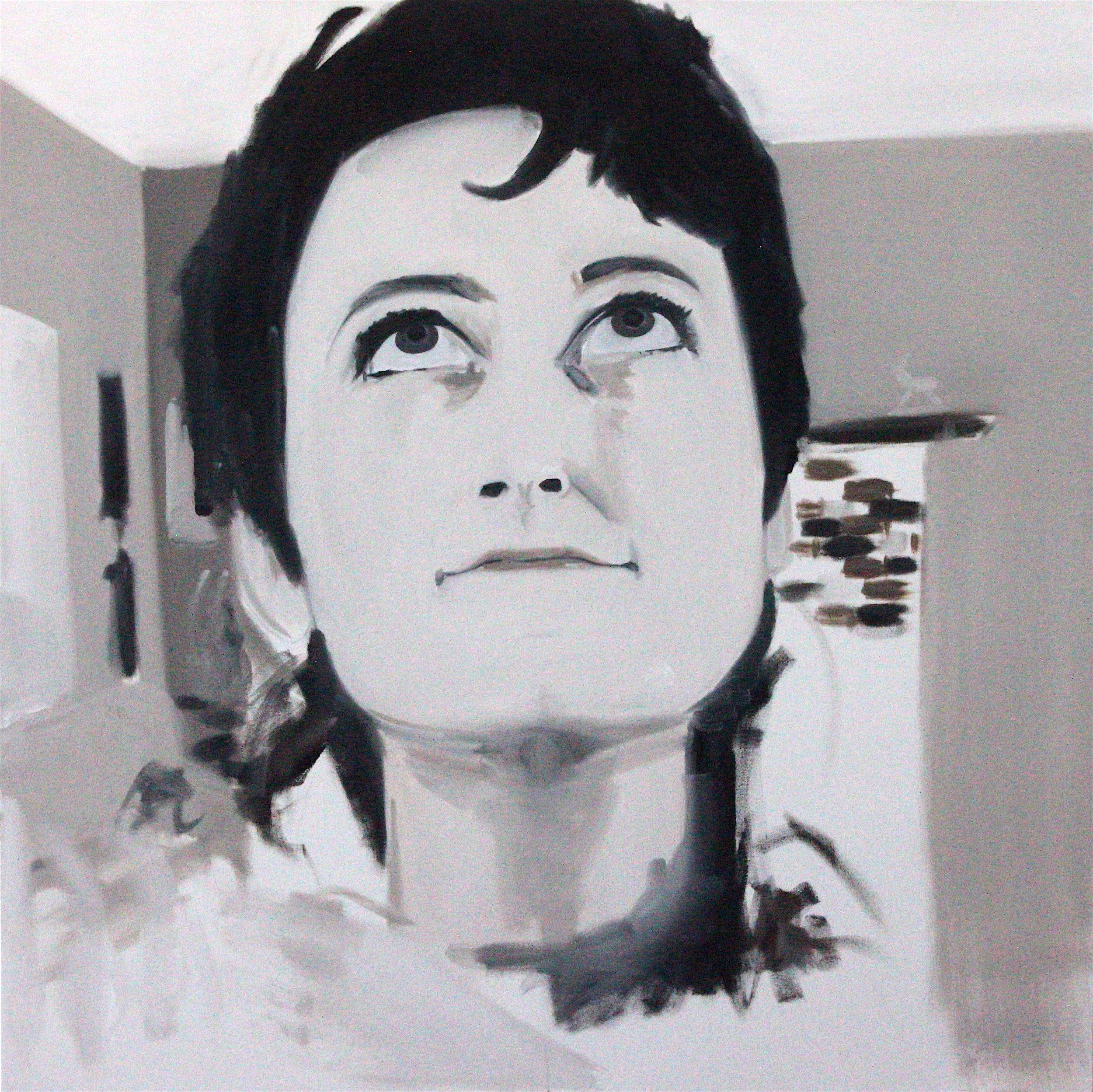 """Beloved: 48"""" x 48"""", Oil on Canvas, NFS"""