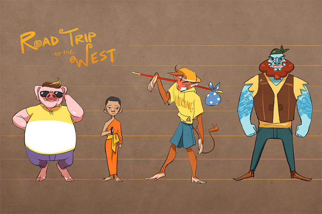 Journey to the West Lineup.png