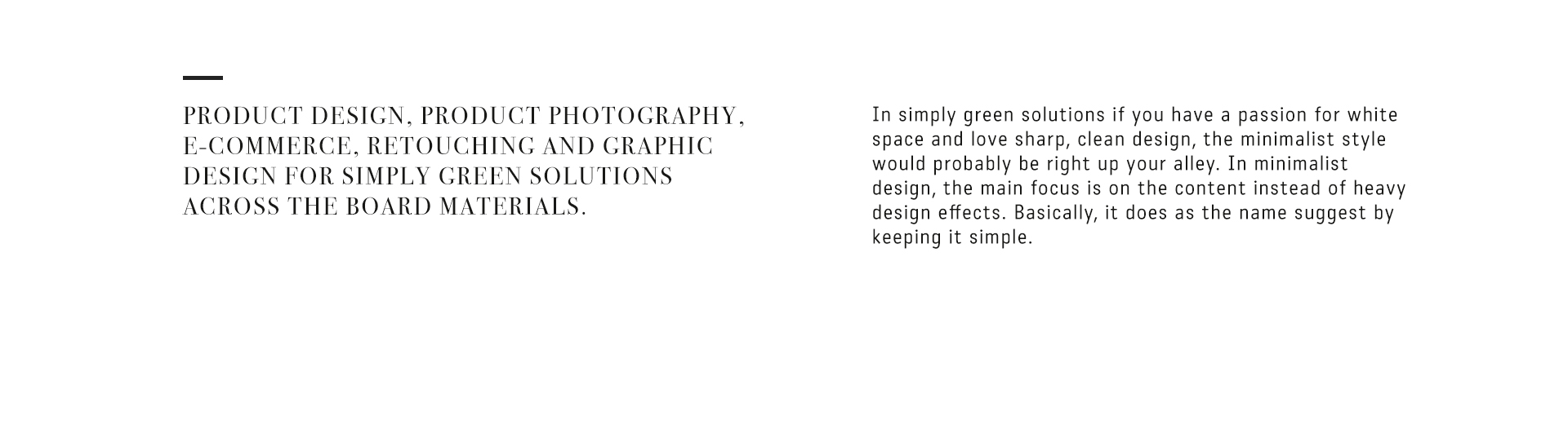 Product Design Photography