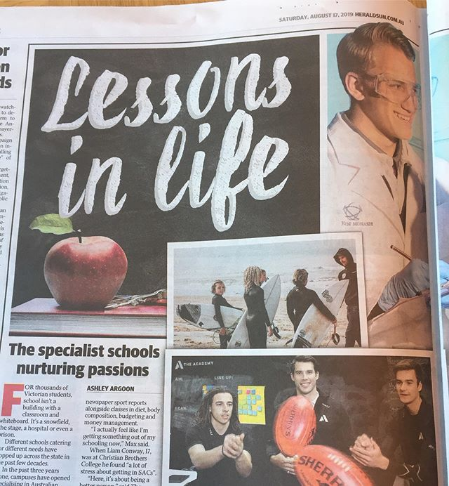 Great article in today's Herald Sun featuring Saltwater Institute. Check it out #heraldsun