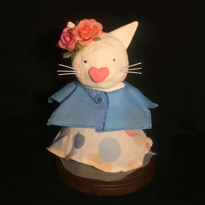 Gigi the White Cat (costume)