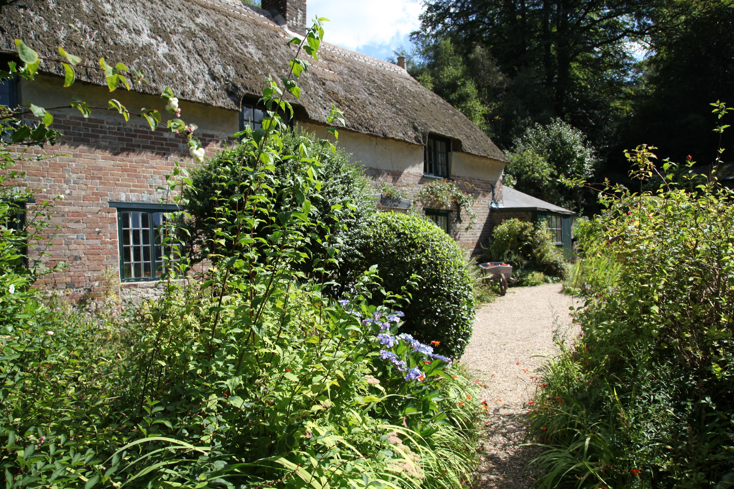 The deeply rural cottage in Higher Brockhampton, Dorset, where Thomas Hardy was born in 1840.