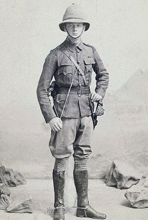 Churchill as a lieutenant in Sudan