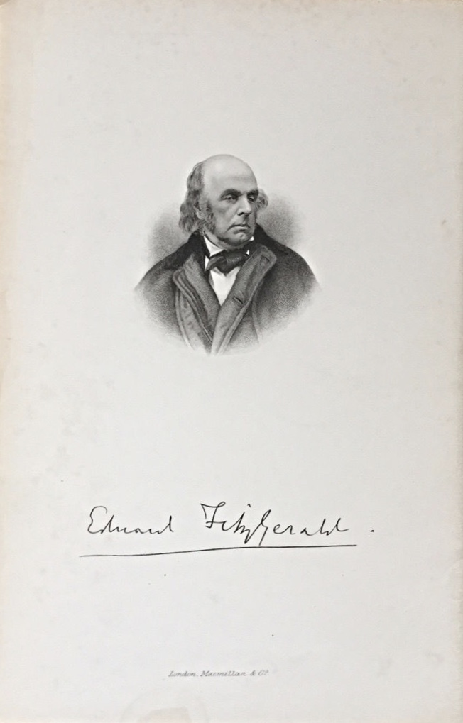 The frontispiece from  Letters and Literary Remains of Edward Fitzgerald , Vol. 1, London,1889