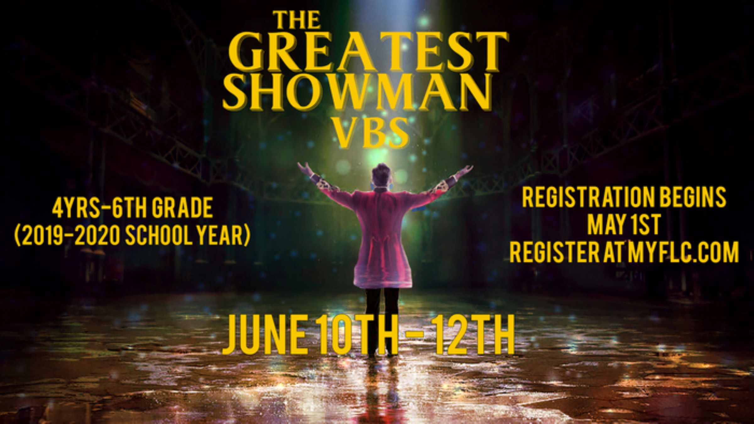Online registration is closed. Walk-In registration will be available all 3 nights of VBS.