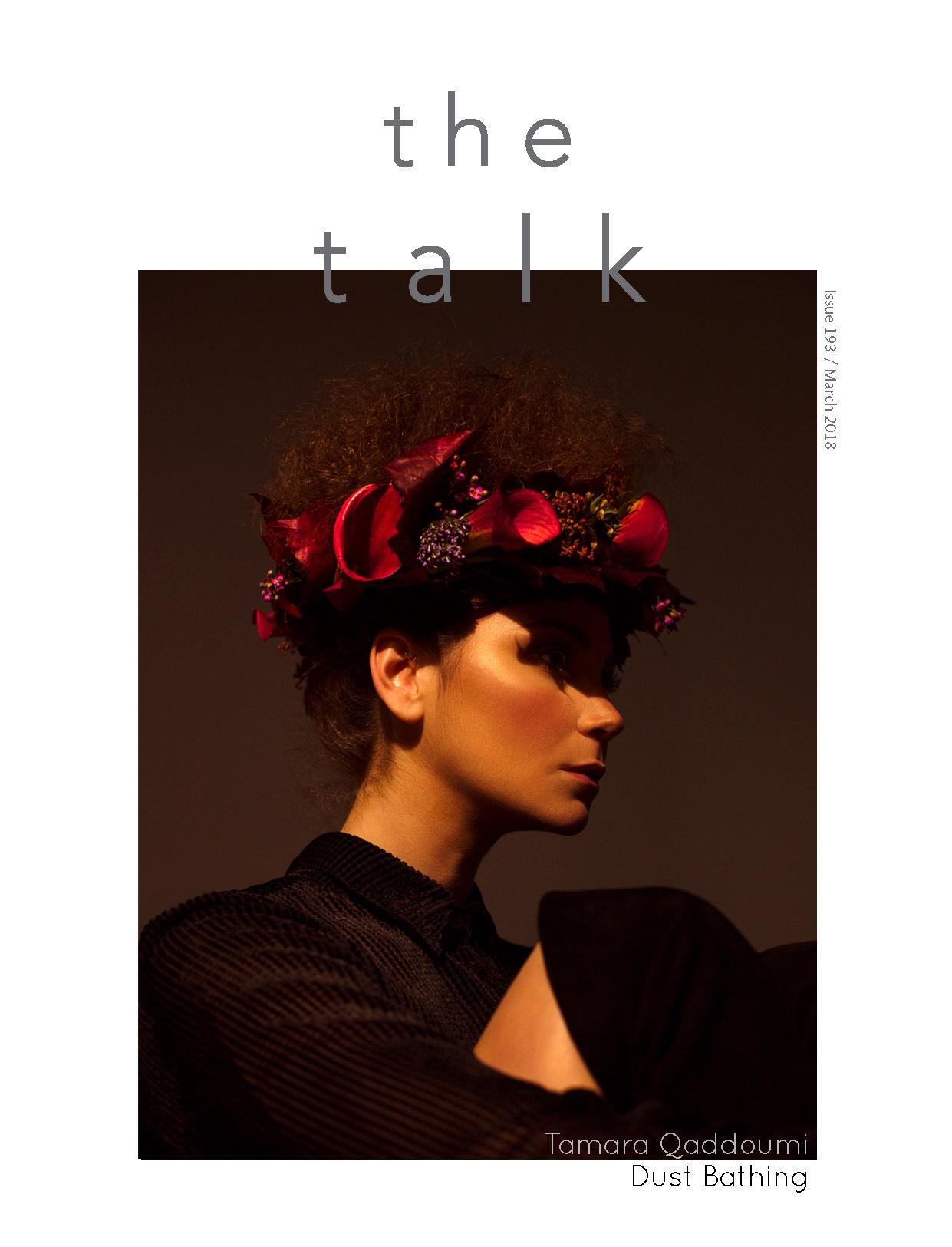 Cover Story  /// Tamara Qaddoumi for The Talk Magazine, Kuwait.    EDITORIAL, FASHION, PORTRAITURE