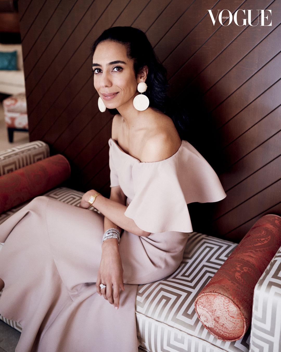 Portrait  /// Sheikha Dana Al Khalifa for VOGUE Arabia Magazine, September Issue 2018.   FASHION, EDITORIAL, PORTRAITURE