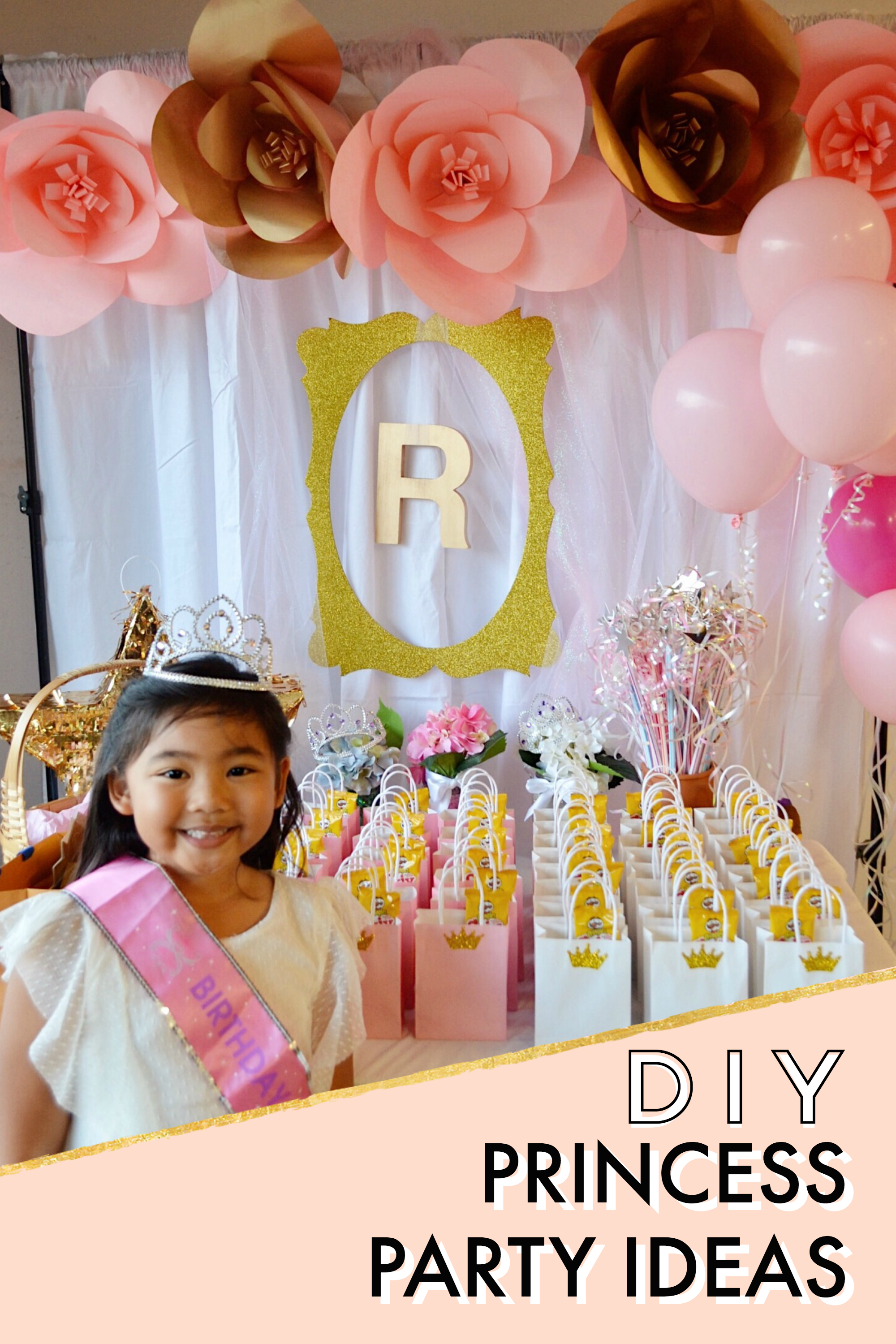 DIY Princess Backdrop