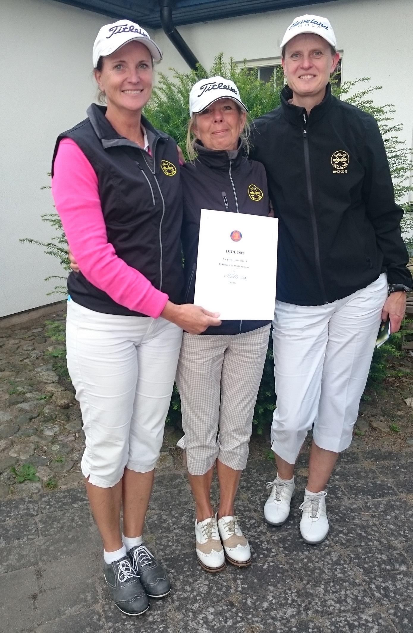 Från vänster: Maria Creutzfeldt, Pia Eldin Lindsten och Ann Lidén