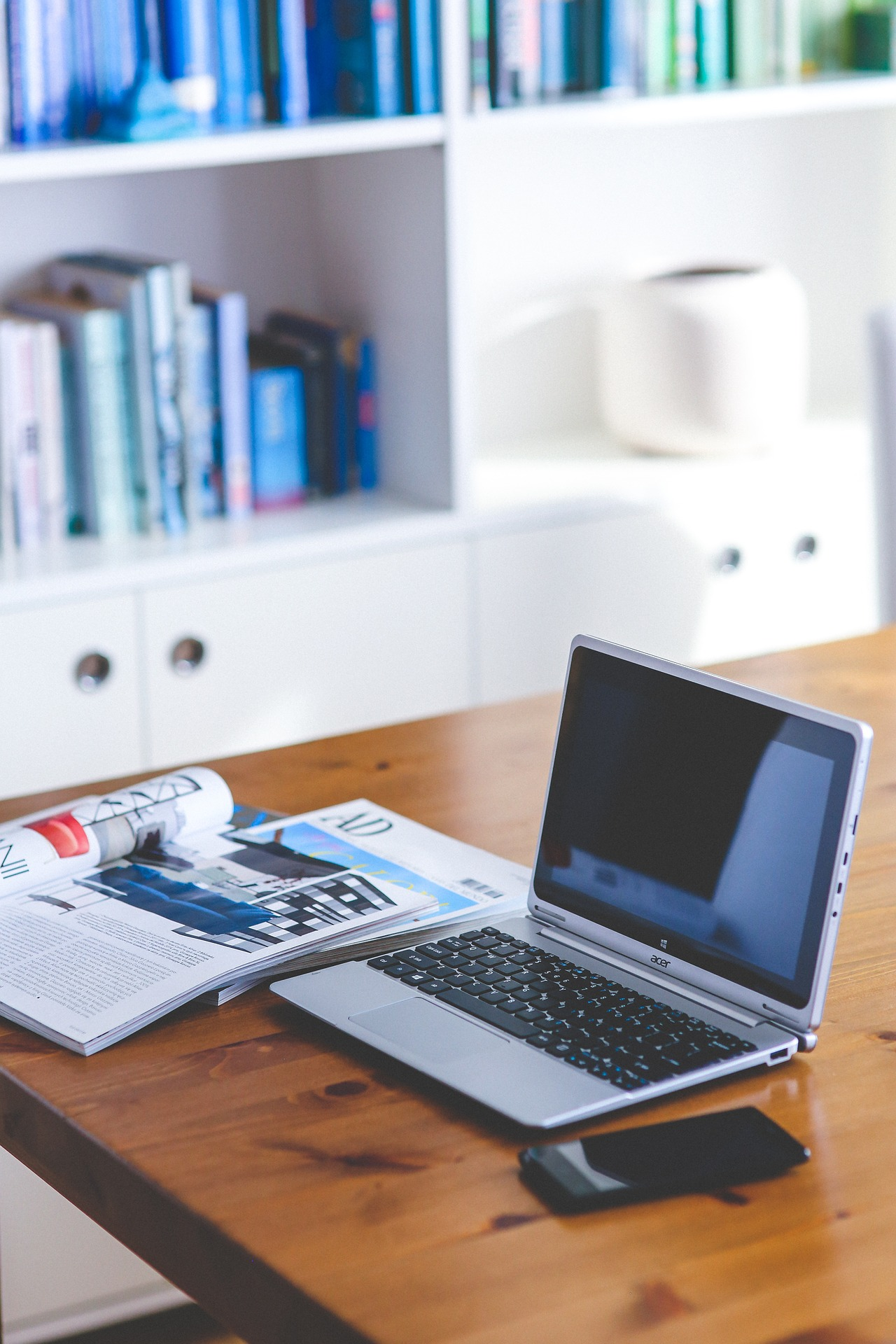 Du kan modtage online undervisning mange forskellige steder.