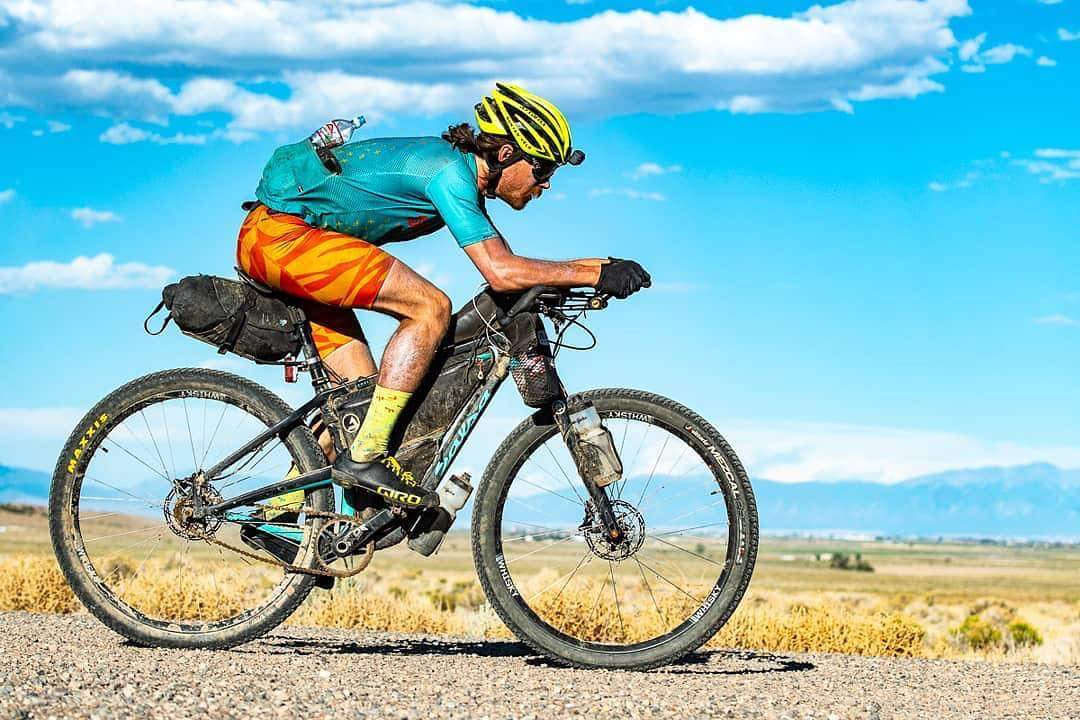 Bailey Gene Newbrey - 2nd place Tour Divide 2018, over all he did it on a Single speed