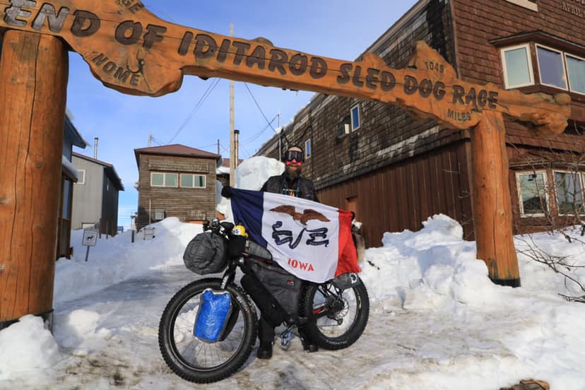 Steve Cannon Iditarod Invitational 1000 miles 2019 Team BarYak