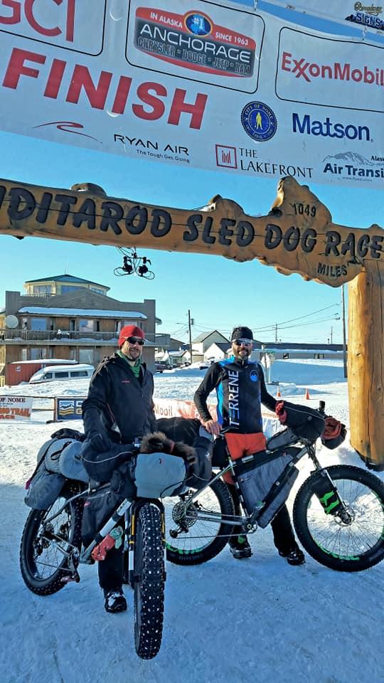 Petr Ineman Iditarod Invitational 1000 miles 2019 Team BarYak