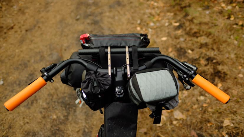 BarYak Ultra with a Jones Bar, Bikepacking.CZ