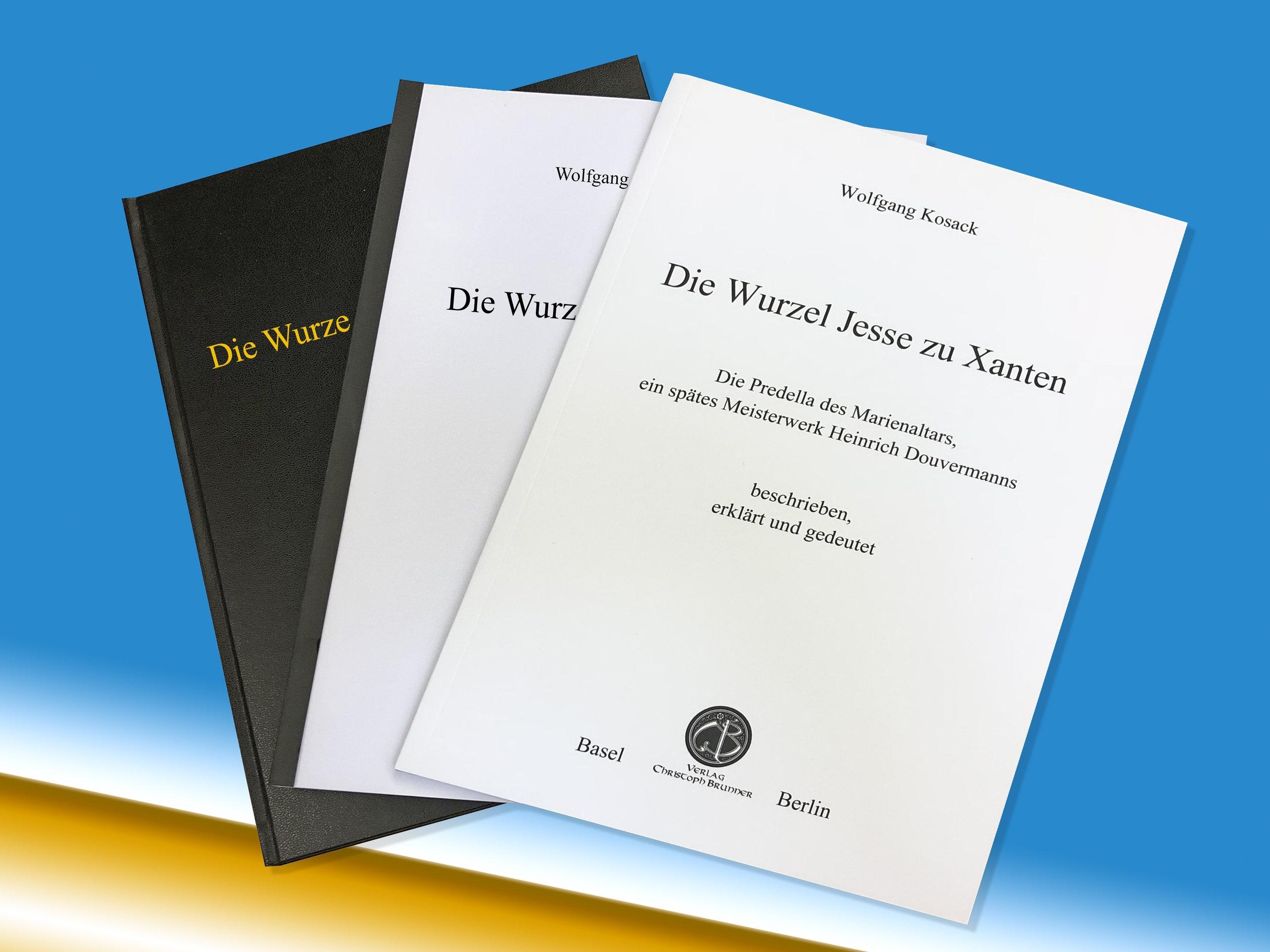Broschüren mit Softcover-/ Hardcoverbindung