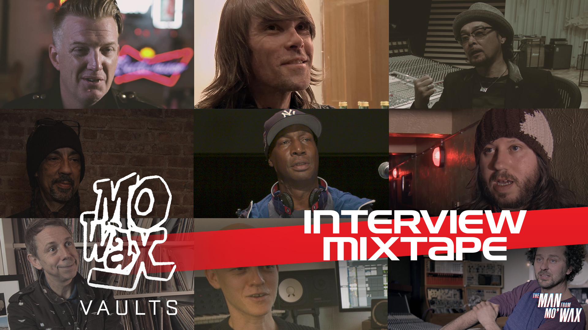 Interview Mix Tape (2018, 25 mins)  Extended interview mash-up with Joshua Homme, Futura, DJ Shadow, Ian Brown and more