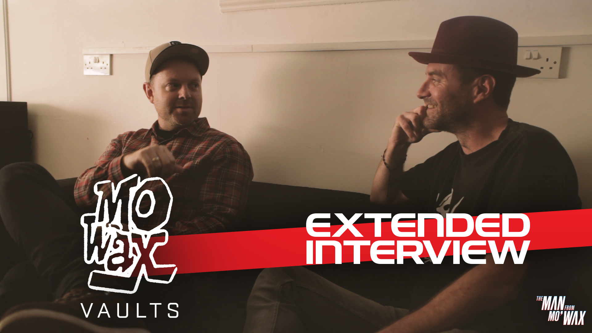 Extended interview with James Lavelle and DJ Shadow  (2018, 68 mins)