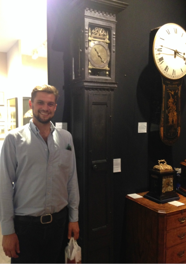 Some stunning Craftsmanship on show, the Grandfather clock on the left dates back to the 1670's.