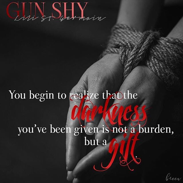 """""""At first you don't like it. It frightens you. The darkness is where nightmares come to life. But after time goes by, you start to feel differently. You begin to realise that the darkness you've been given is not a burden ... but a gift."""" 🖤 🖤 🖤 Did you see? Gun shy is on sale for 99c for the first time ever!  AND if you have Kindle Unlimited, it's FREE to read with your membership! 😍🖤😍 Gun Shy might be my favourite of all my book children. It's the darkest, most devious of all of my stories ... and definitely a slow burn. It's also the only standalone I've published, so you don't have to wait to dive in. . . . 🔪LINK IN MY BIO 🔪 . . . #gunshynovel  www.ReadGunShy.com 🖤"""