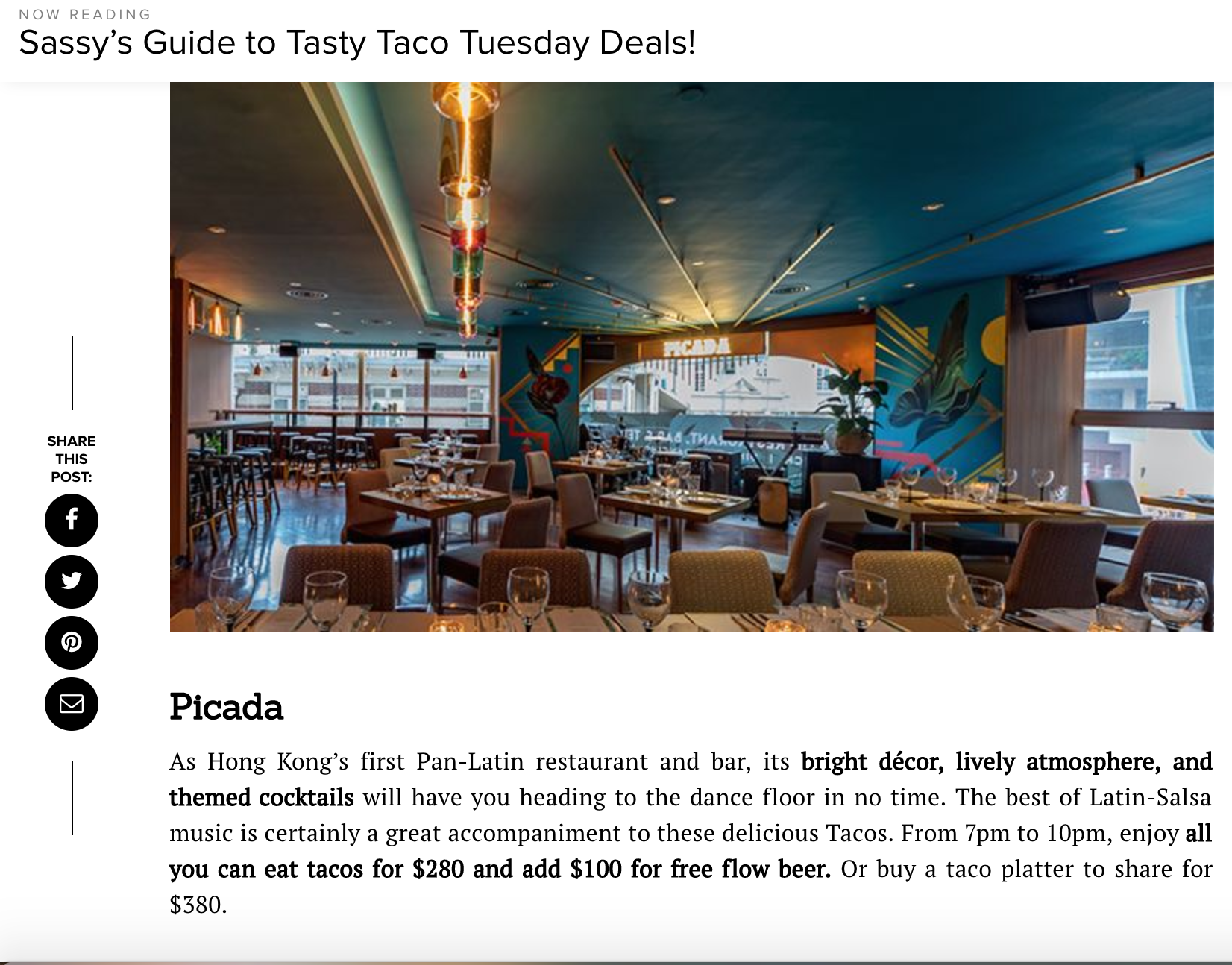 Read the full article here:https://www.sassyhongkong.com/eat-drink-restaurants-taco-tuesday-mexican-deals-guide/