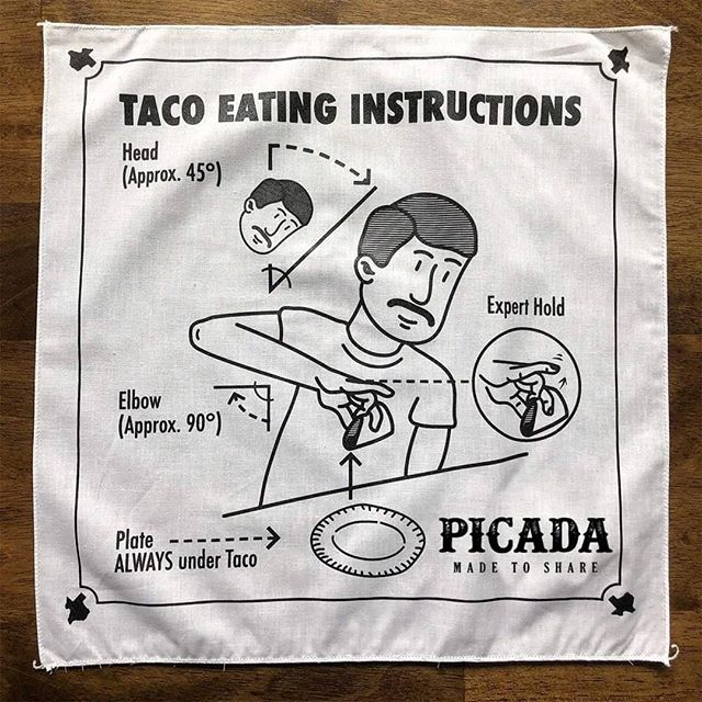 Hola muchachos! Tonight its Taco Tuesday, and to make sure we are all in good form we want to give you some taco-tips! #PicadaHK #PicadaitsTacoTuesday #TacoTuesday