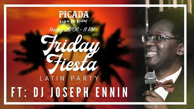 """Last weekend was CRA ZY!  Join us again this friday and get to live """"La vida loca"""" with us  Be prepared for a hot night of Salsa, Merengue, Bachata, Kizomba, Reggaeton & more —- FREE ENTRY —- FT DJ JOSEPH ENNIN Organiser of the only Salsa Festival in town, playing the hottest Salsa, Bachata, Kizomba, Merengue & more -----------OASIS TERRACE------------ DJ Joseph will delight us in the pre-party with some tropical tunes on our Oasis Terrace from 8:00 PM  Get delicious shisha from """"The Aces HK""""  Enjoy Happy Hour $38 standard drinks on the terrace from 5-10 PM to get your night kicking right before the party starts  Nos vemos!!!"""