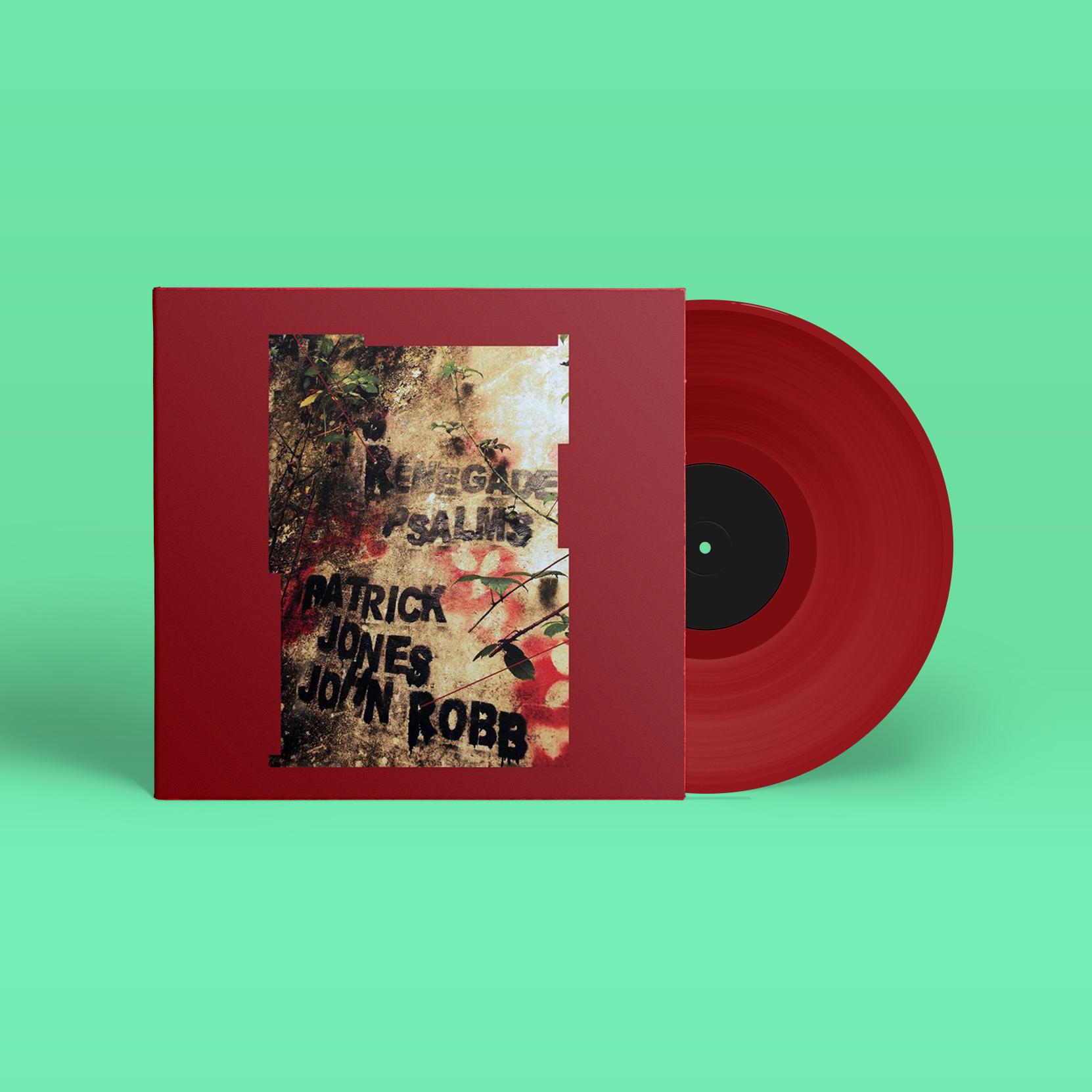 Renegade Psalms (Red vinyl edition) Patrick Jones & John Robb