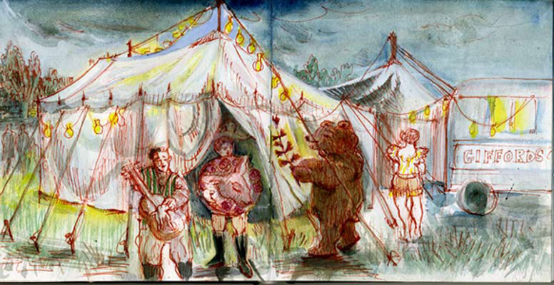 Gifford's Circus, Somerset
