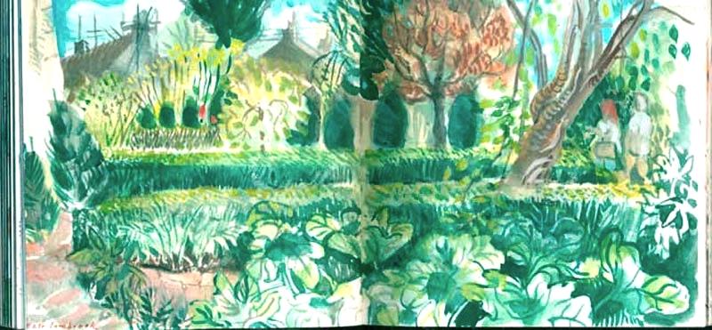 Garden, East Lambrook
