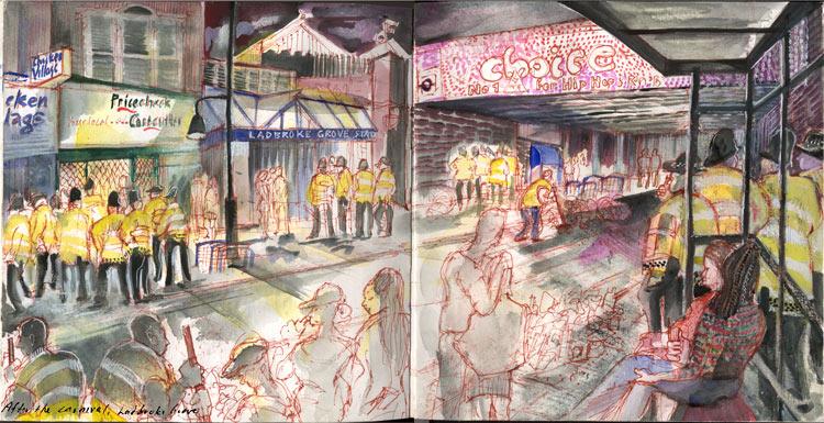End of carnival. Ladbroke Grove
