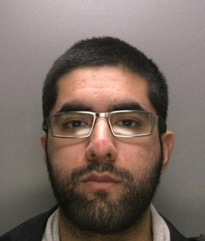 Sahil Rafiq, jailed in the UK for pirating movies