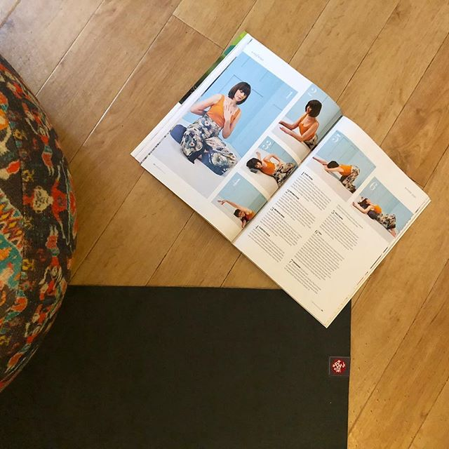 I know it doesn't feel so summery right now in the uk but my yin for summer article is out in @inthemomentmag now. Perhaps if we all align our energy with the season the weather will follow? Some kind of ripple effect?  Handily enough the practices on the pages does just that - aligns you with the seasonal energy (weather change still yet tbc)  I'm also hosting an extended seasonal practice down at @jess_wildwolfsyoga on Saturday 22nd June - 3 whole hours yinside where we can go deep heat. Book your mat through my website 🙏🏼