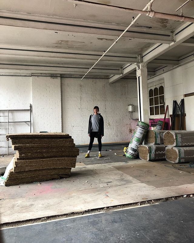 First picture of me down at @nowstudiobristol  Late summer will see this space launch as a daylight photography and wellness studio. Obviously there's a good bit of work that both myself and the builders need to do before we are ready to welcome you with open arms. But it feels damn good already