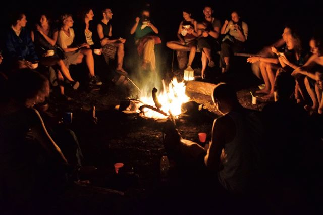 How I love a good campfire...A truly magical experience!⠀ .⠀ Perhaps it was my childhood as a scout, or simply the primal nature of being next to a roaring fire, but my soul stirs and awakens whenever I am lucky enough to be around one.⠀ .⠀ This photo was taken during a retreat in 2015 in Oneirema Eco-retreat, near Prasses in West Crete. A beautiful gathering of kindred spirits and a community of souls, eating soup around the fire.⠀ .⠀ Oneirema is an incredible place, full of magic, beauty and power. Created by a group of healers and creative spirits, it welcomes groups, soul questers and people looking for deeper harmony and connection.⠀ .⠀ Can you hear the cracking of the fire? The sounds of the night around you? When was your last campfire? Tell us about it!⠀ .⠀ .⠀ #greecelover_gr⠀ #natures⠀ #nature_greece⠀ #spiritguides⠀ #spiritualhealing⠀ #soultravel⠀ #retreats⠀ #retreatyourself⠀ #greece_nature⠀ #southcrete⠀ #hikingviews⠀ #conscioustravel⠀ #visionquest⠀ #spiritualguidance⠀ #spiritualpath⠀