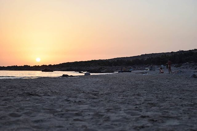 Another gorgeous sunset, this time in Kedrodasos, in the South-West corner of the island. . Kedrodasos is a magical place: juniper trees, soft sand, crystal clear waters, abundant life and wildlife. It's a favourite with free campers in the summer, an incredible place to wake up to, or watch the stars at night. . My last trip to Kedrodasos was with a few friends in May: we ate dinner around a little campfire and slept under the stars. The water was cold but it was worth it! . Do you enjoy camping? What was your favourite experience? . . #naturegeography #quest #ecotourism #ancientgreece #quest_4_magic #spiritguides #spiritualhealing #soultravel #hikingadventure #crete🇬🇷 #instacrete #welovecrete #visitcrete #greece_nature #southcrete #hikingviews #conscioustravel #visionquest