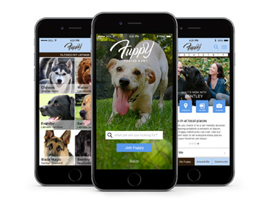 Mobile App - Dog Foster & Adoption