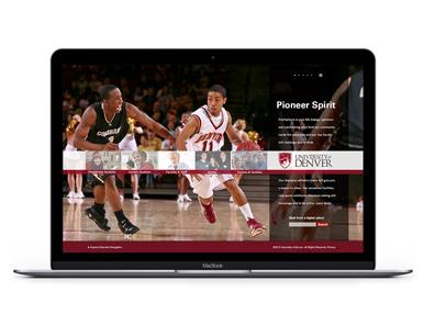 Website - University at Denver UX/UI