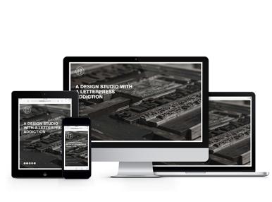 Digital Branding - SweetWater Letterpress